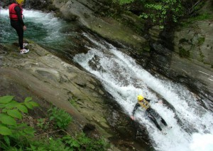 Canyoning in Südtriol